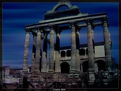TEMPLO DE DIANA (MERIDA) (((((((-charly-)))))) Tags: canon atardecer merida pueblos pedraza 450d platinumphoto vosplusbellesphotos travelsofhomerodyssey