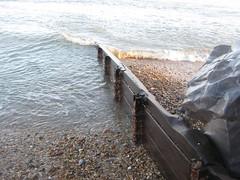 Hayling beach Sandy point (steve 2001) Tags: sea beach hayling erosion groyne defence
