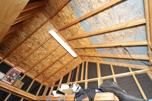 Finishing Shed Q Eave Vents But No Ridge Vents How To