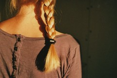 Hair Obsession (Ida/FarWestLogbook) Tags: film braidhair