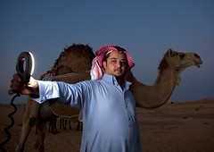 Bedouin with ring flash, Marhaba, Saudi Arabia (Eric Lafforgue) Tags: night desert arabic camel arabia saudiarabia ringflash bedouin ksa badu bedu chameau hima saudiarabien najran   arabie   arabiasaudita  kingdomofsaudiarabia   arabiesaoudite   suudiarabistan arabsaudi   saoediarabi arabiasaudyjska
