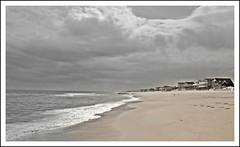 Those Summer Days...? (HanaP227) Tags: ocean houses beach clouds newjersey waves kitlens longbeachisland shore beachhaven canonxsi