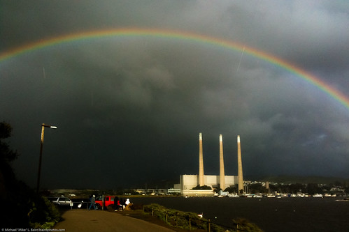 Mike Baird: Rainbow over Morro