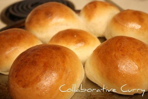 Rolls out of the oven