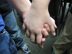 I Want to Hold Your Hand (katerha) Tags: beetles dailyshoot holdinghandshands fivecardflickr edtech3652010 ds68