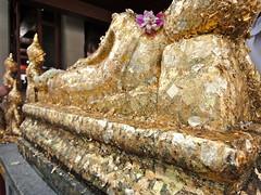 Fresh, Golden Prayers (Beana Bern) Tags: travel thailand asia southeastasia bangkok awesome buddhism places buddah watpho 2010 relligion dsc00299