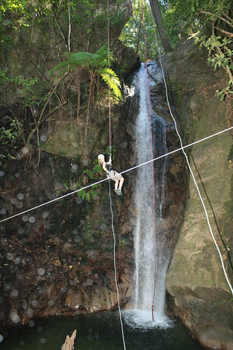 Zip Line Fun in Mexico