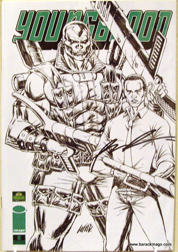 Youngblood 8 - Sketch Variant