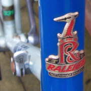 Raleigh Road Ace head tube badge