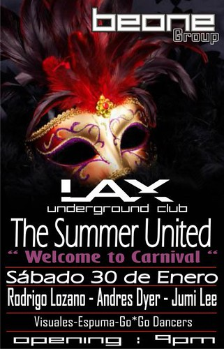 The Summer United - Discoteca Lax