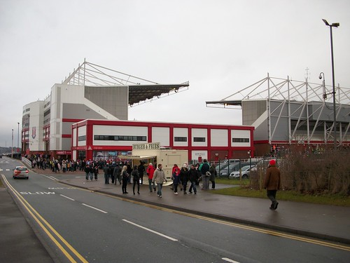 Stoke City FC V Arsenal 02
