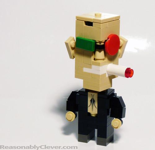 Spider Jerusalem LEGO Cube Dude