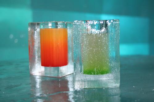Is och färg, spännande kombinatio
