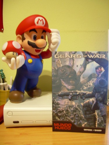 Super Mario & Gears of War Comic