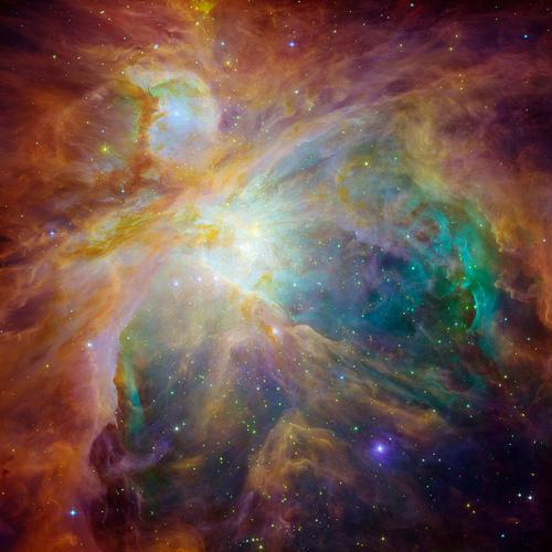 Heart of Orion, NASA Multimedia