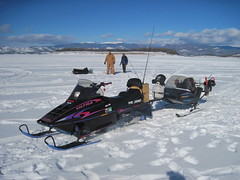 Hoss's Ice Fishing Rig (fethers1) Tags: icefishing laketrout lakegranby