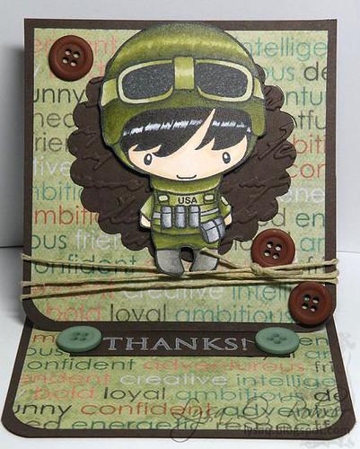 Easel Soldier Ian