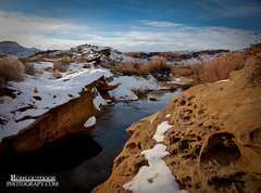 Wolfe Ranch Stream (RobsWildlife.com  TheVestGuy.com) Tags: winter snow canon landscape utah nationalpark sandstone scenic arches moab southernutah archesnationalpark snowcovered 2010 canoncamera canonef24105mm canon5dmarkii thevestguy robsoutdoorphotographycom robsoutdoorphotographycom robdaugherty thevestguycom wolfranchstream redrockrobdaugherty robswildlifecom robswildlife