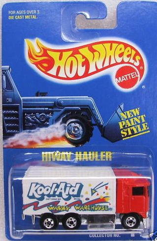 Hot Wheels Wacky Warehouse truck 2
