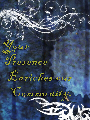Your Presence Enriches ..