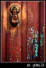 Open please (W Garca) Tags: door red rojo puerta