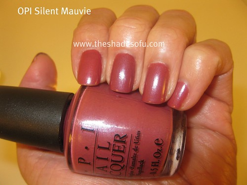 Ulta Haul And Opi Silent Mauvie Nail Polish Swatch Nice Makeup Entries