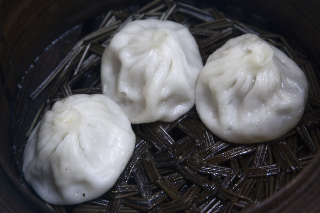 Xiao Long Pao (the dimsum with somekinda soup inside)