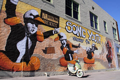 2010_01_03_8614 (BrainPie) Tags: city arizona urban music streetart art architecture buildings desert tucson wallart az rialtotheatre sonicyouth