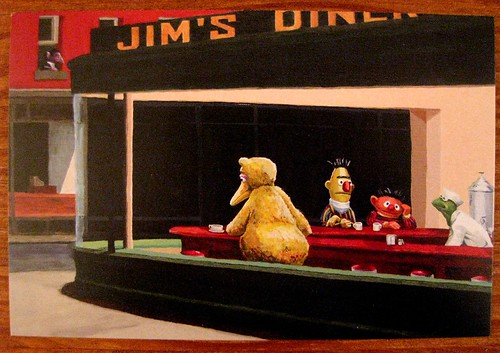 Hopper Muppets