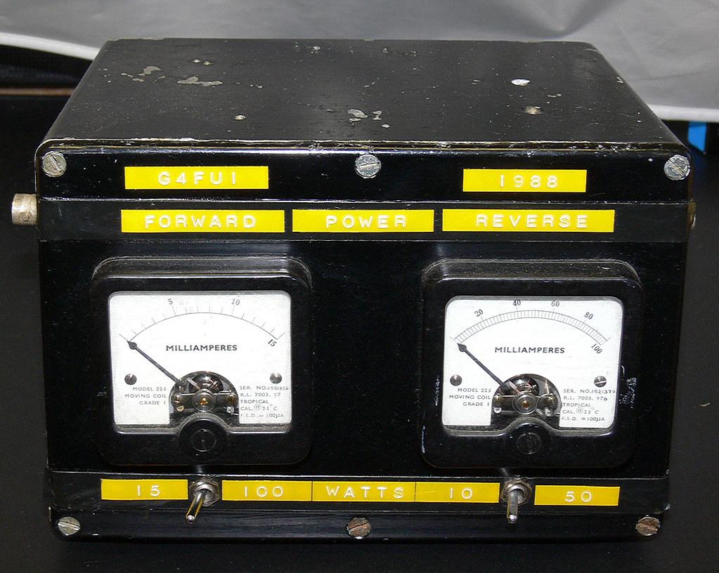 Home Made Twin Meter RF Power Meter