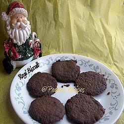 Padma's Ragi Cookies