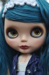 I still love her so  (Lawdeda ) Tags: love by for vampire her mohair blythe custom myth reference toof ebl moofala cocomicchi