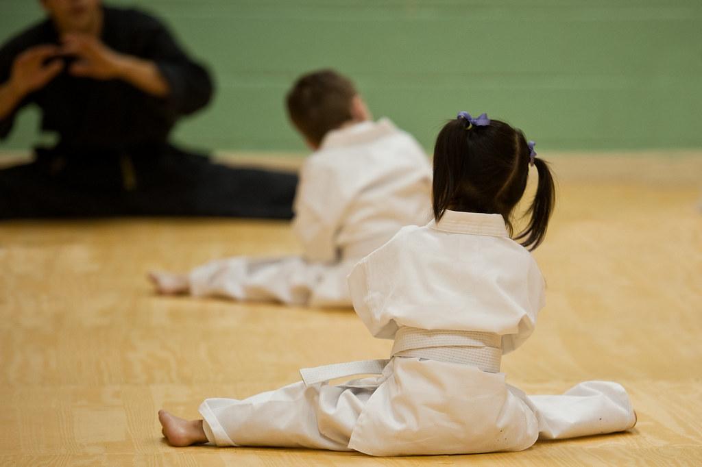 #37 Karate girl