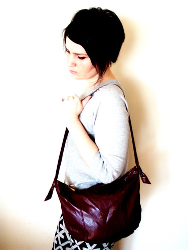 mahogany bag
