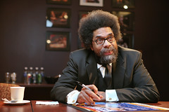 Cornel West visits UB (moiht) Tags: west buffalo explore speaker ub suny frontpage cornel cfa distinguished strobist