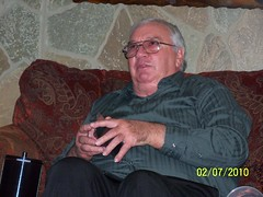 Poppa has put on some weight! (staggerlee1) Tags: people sitting grandfather grandpa sit granddaddy greatgrandfather seated poppa