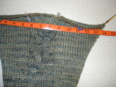Sleeve width close to 14 inches (wider than pattern calls) (cdyount) Tags: park hoodie central kal