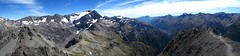 Panorama - Arthur's Pass - Avalanche Peak Trek 4 (Ben Beiske) Tags: newzealand panorama trekking hiking arthurspass peak panoramic southisland circuit stitched avalanche