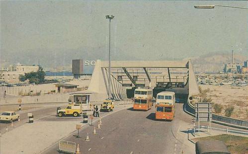 Cross Harbour Tunnel 70s