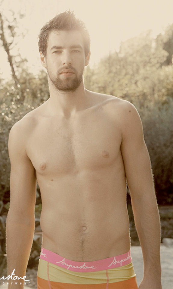 Luca Karabatic shirtless