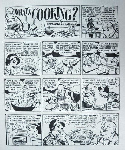 """What's Cooking"" 1966 comic"