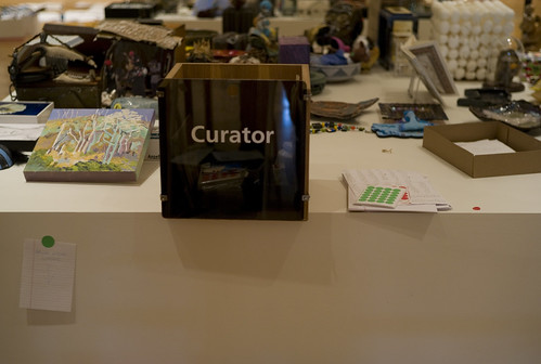 The curator is out of work, by Ernesto De Quesada, Creative Commons: Attribution-NonCommercial-NoDerivs 2.0 Generic.