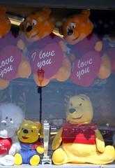 Valentine Day shop window (Heaven`s Gate (John)) Tags: bear reflection love window glass shop toy valentine romance pooh shopwindow reflexions valentinesday 14february johndalkin heavensgatejohn