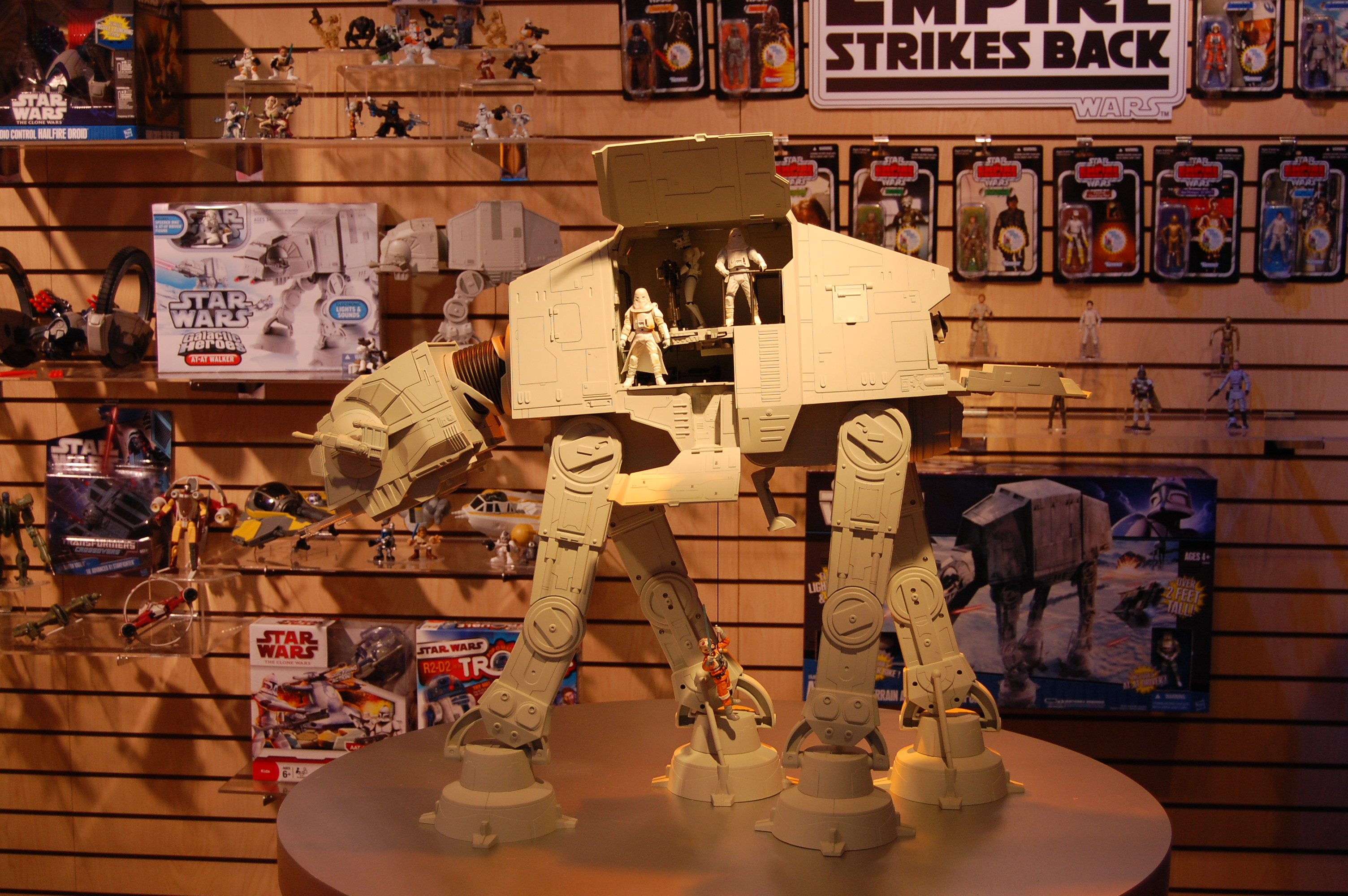 Imperial AT-AT Walker, forthcoming from Hasbro
