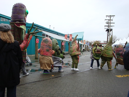 Monsters at Granville Island