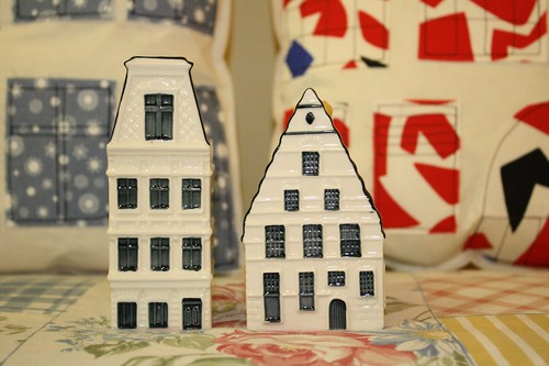 Dutch houses models from KLM