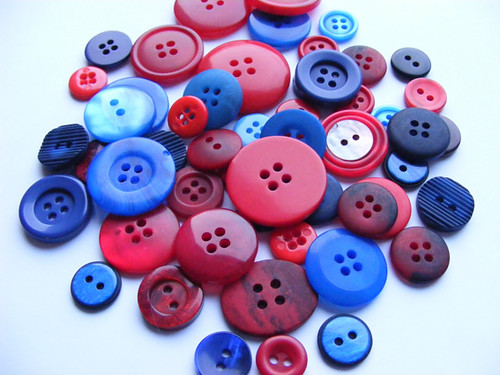 Buttons, lovingly gathered and shot by Kittyeden