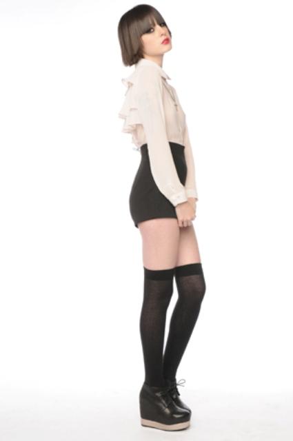 Chloe Ruffle Blouse 3