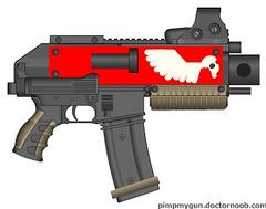 Bolter (CalcipherD) Tags: gun pimp bolter my