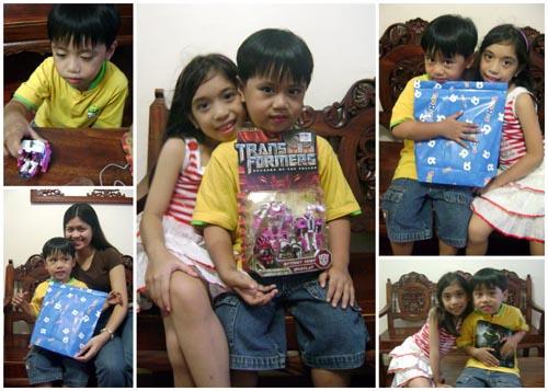 birthday gift transformers